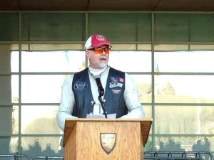Speaking at the launch of Motorcycle Safety Awareness Month 2014