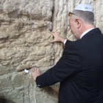 Don, praying at the Western Wall