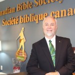 First day as interim CEO at Canadian Bible Society
